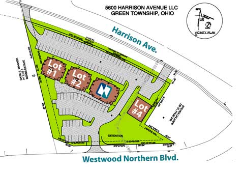 Site Drawing - 5600 Harrison Ave